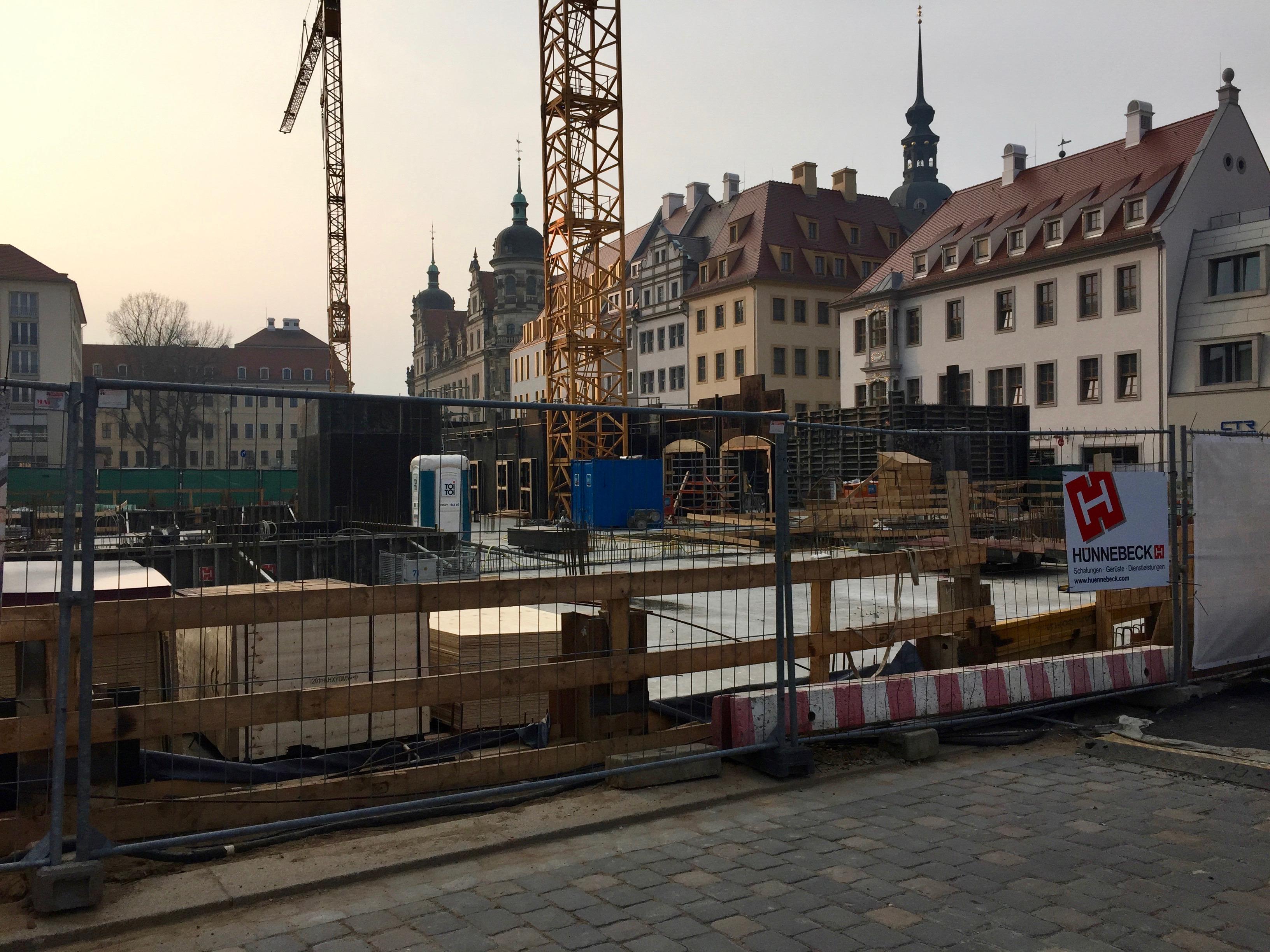 Neumarkt in Dresden