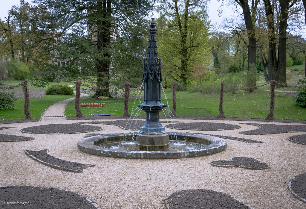 Schloss Babelsberg Gotische Fontäne