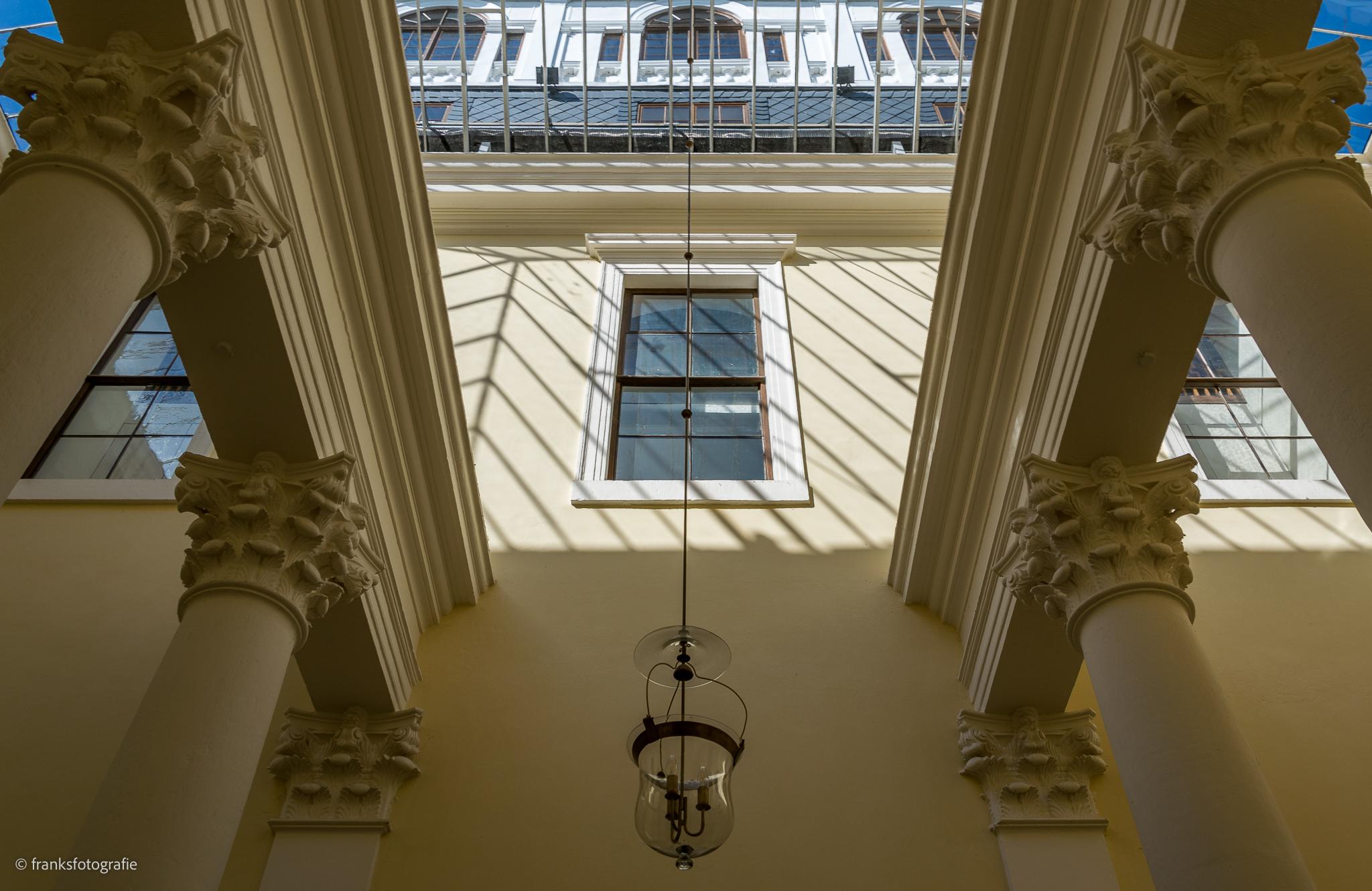 Innenräume von Schloss Wörlitz Innerer Lichthof