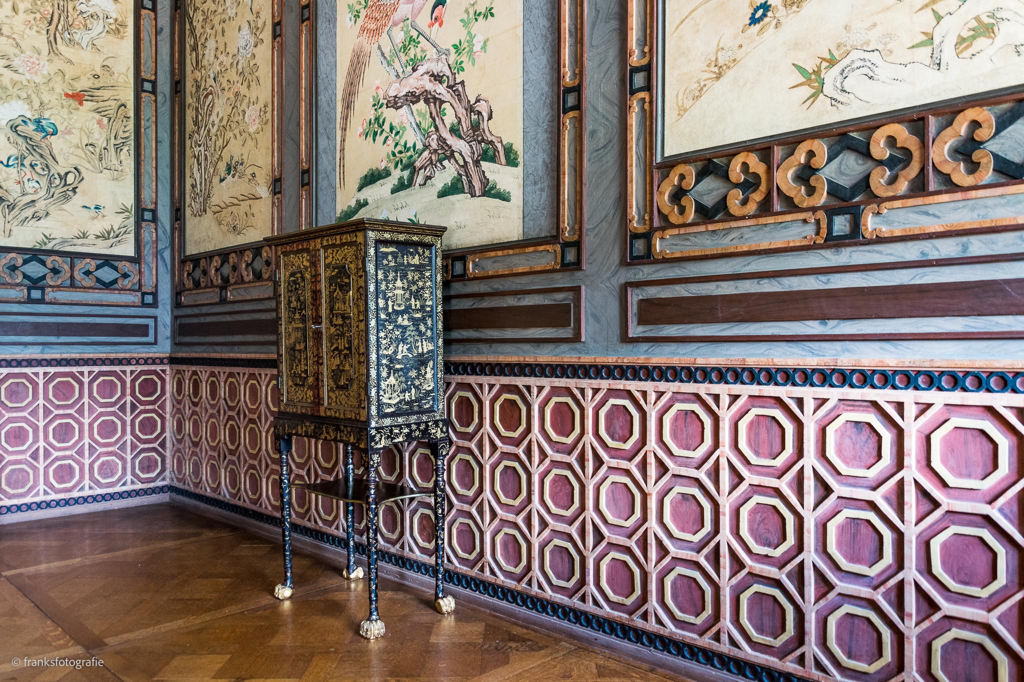 Innenräume von Schloss Wörlitz Chinesische Zimmer