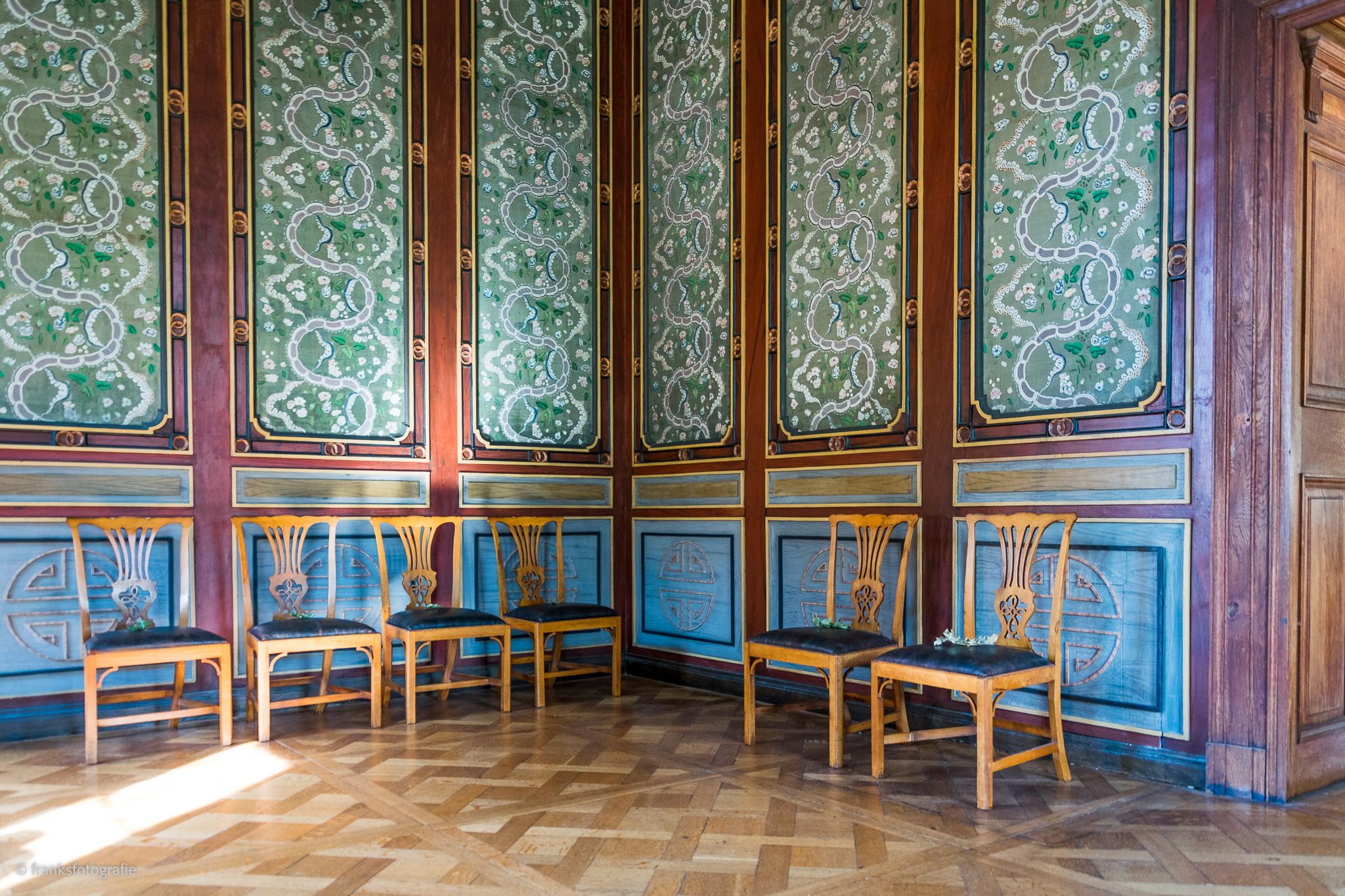 Innenräume von Schloss Wörlitz Chinesisches Zimmer