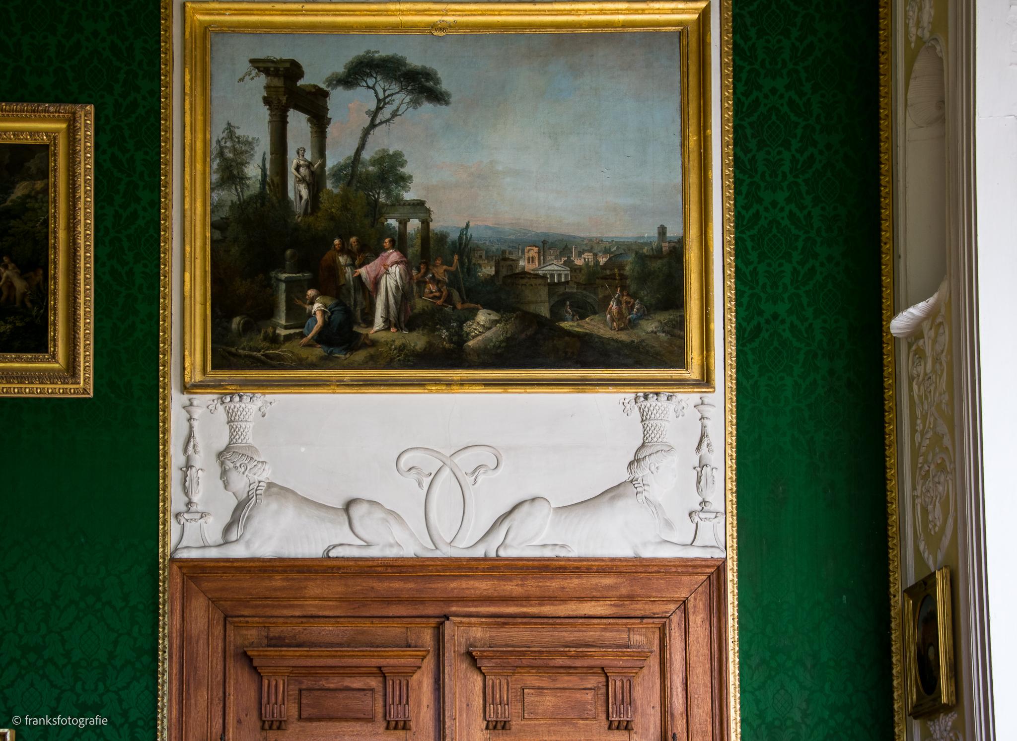 Innenräume von Schloss Wörlitz Enfilade