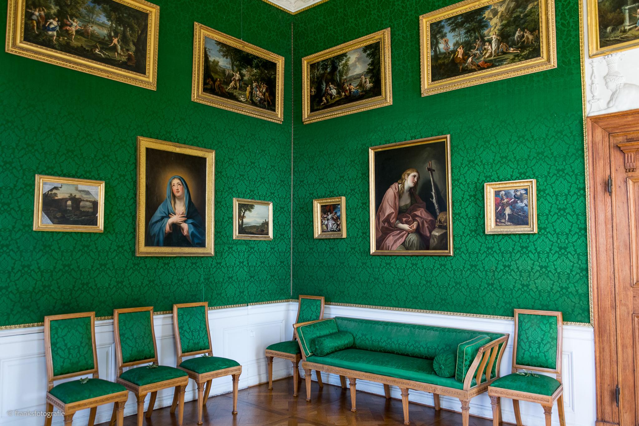 Innenräume von Schloss Wörlitz Erstes Eckzimmer