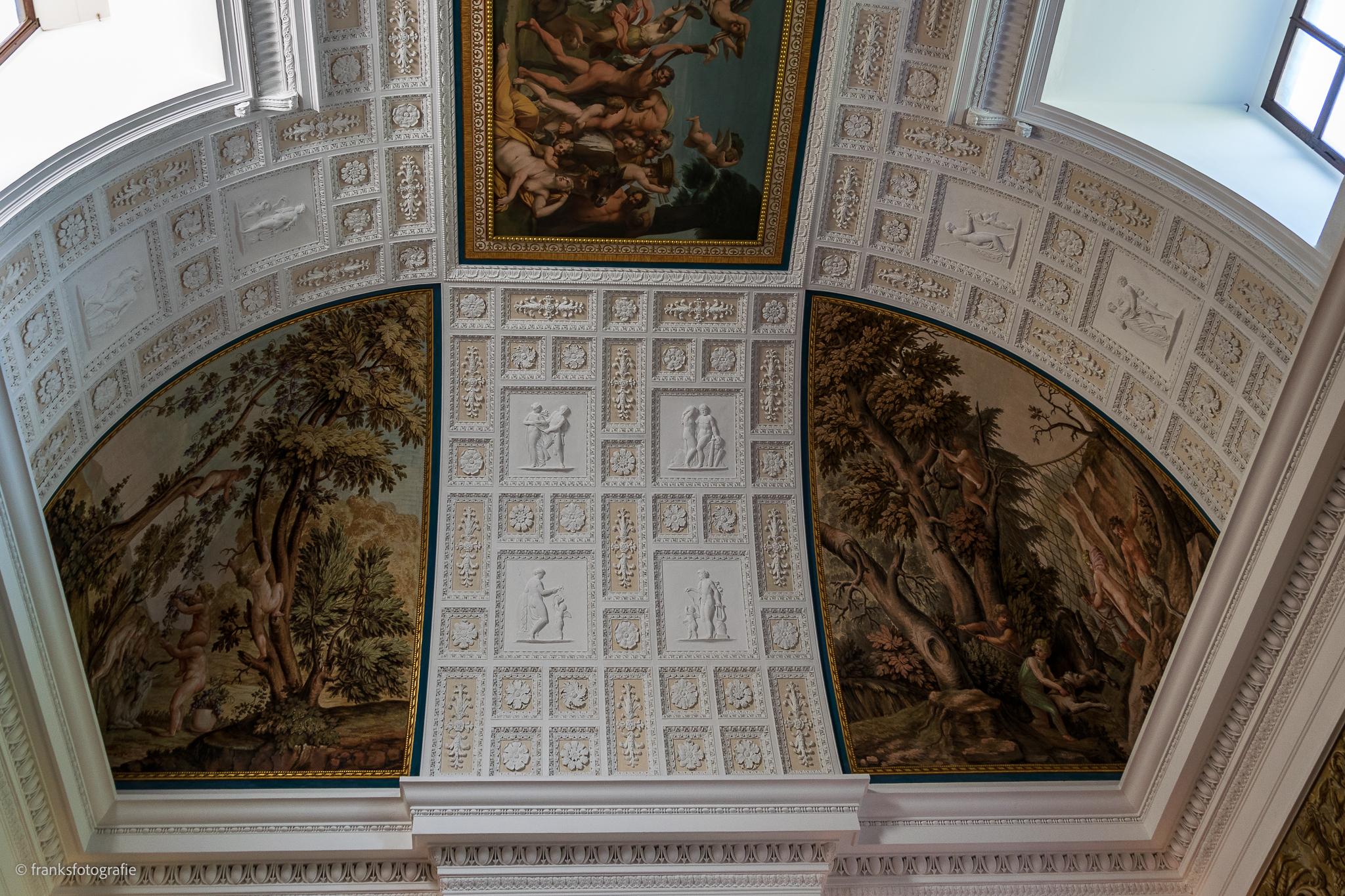 Innenräume von Schloss Wörlitz Großer Saal