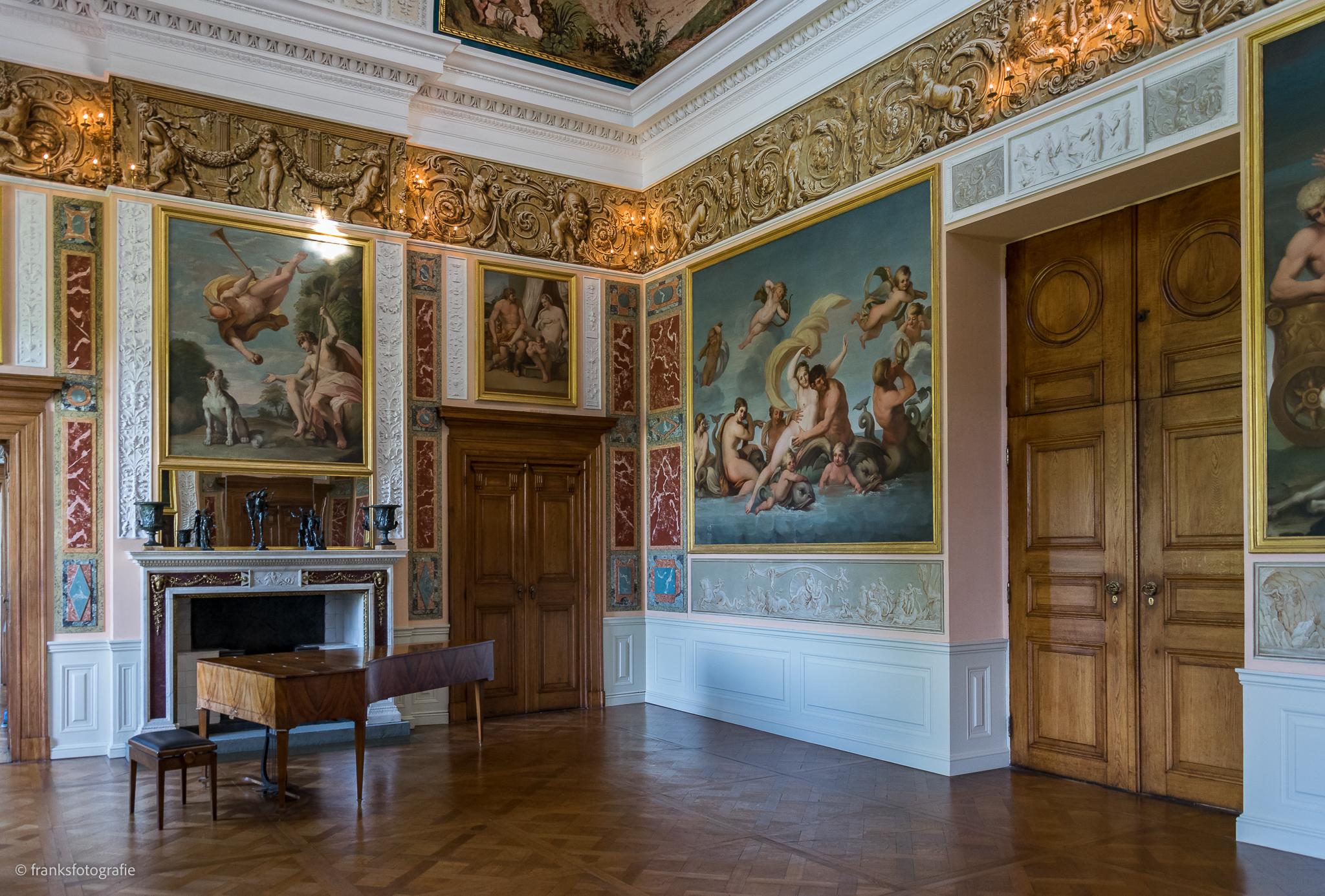 Innenräume von Schloss Wörlitz Der Festsaal