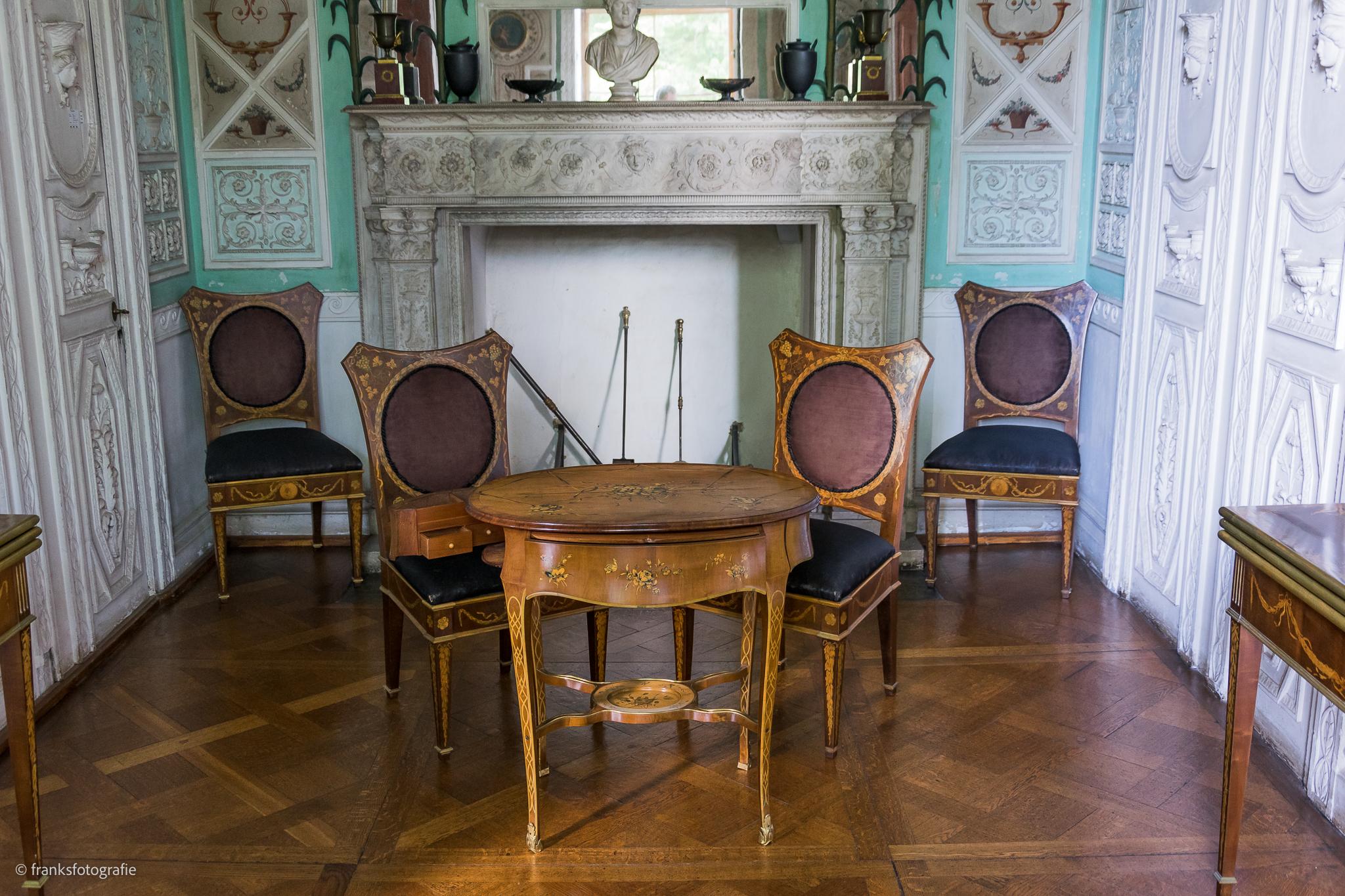 Innenräume von Schloss Wörlitz Kabinett der Fürstin