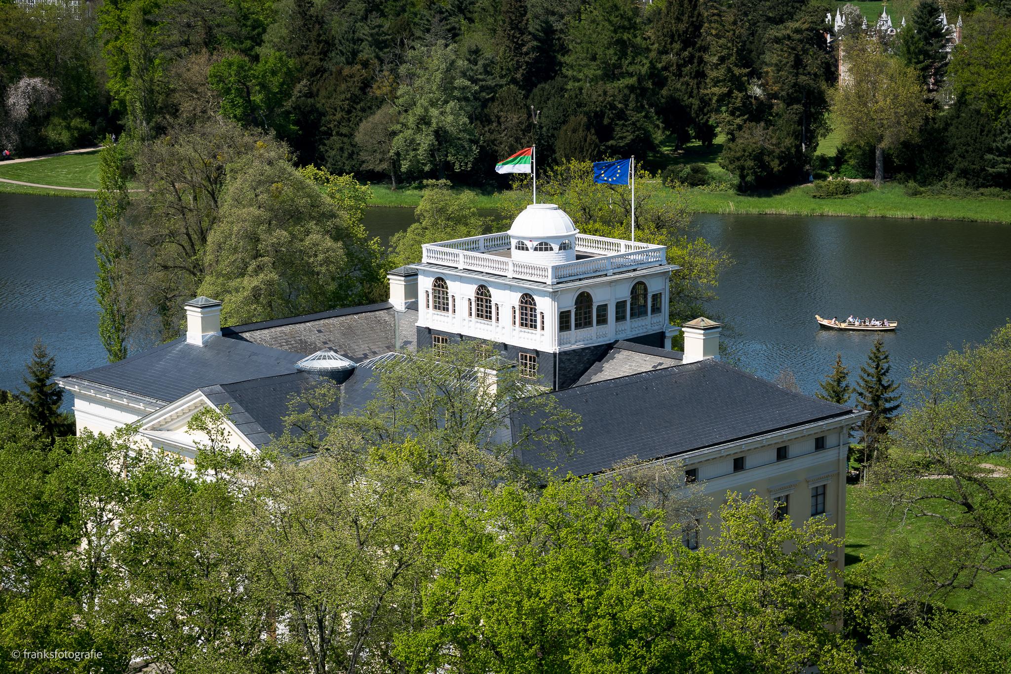 Gartenreich Dessau-Wörlitz Wörlitzer Schloss Aussichtsplattform
