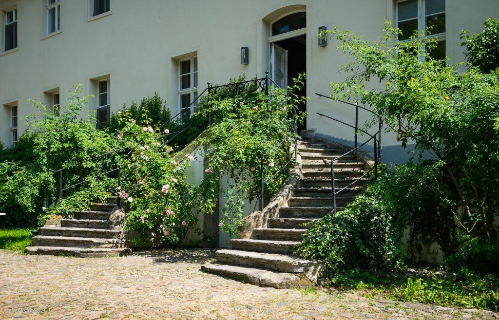 Schloss Blankensee Gartenfront