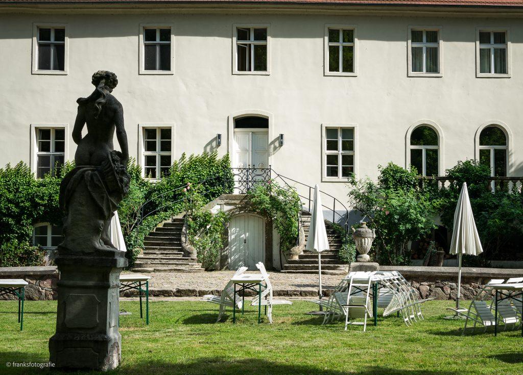 Schloss Blankensee Gartenseite