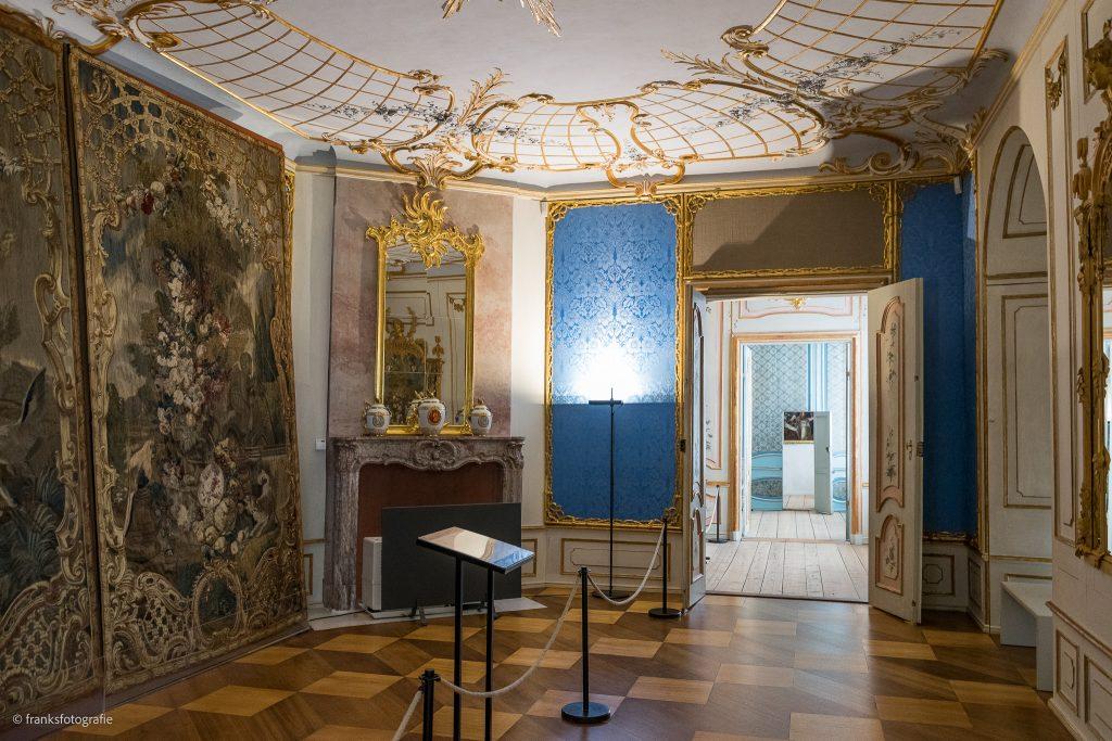 Schloss Rheinsberg erkunden Audienzsaal