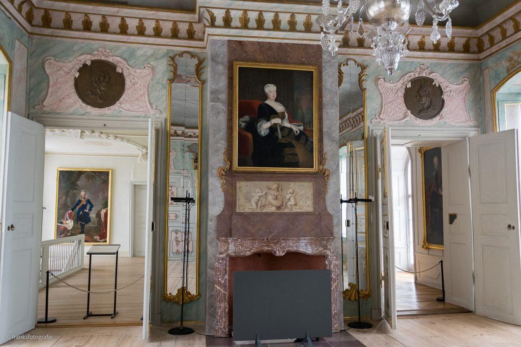Schloss Rheinsberg erkunden Vorsaal Rittersaal