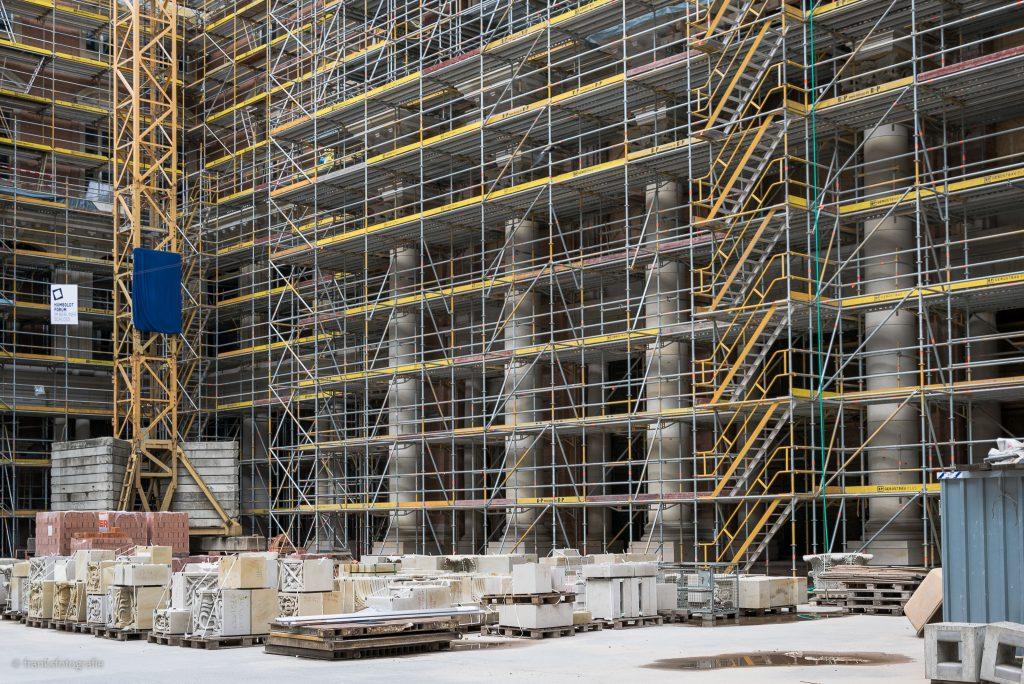 Wiederaufbau Berliner Schloss Portal VI