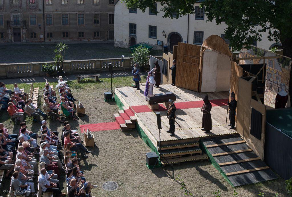 Schloss Altenburg erkunden Prinzenraub