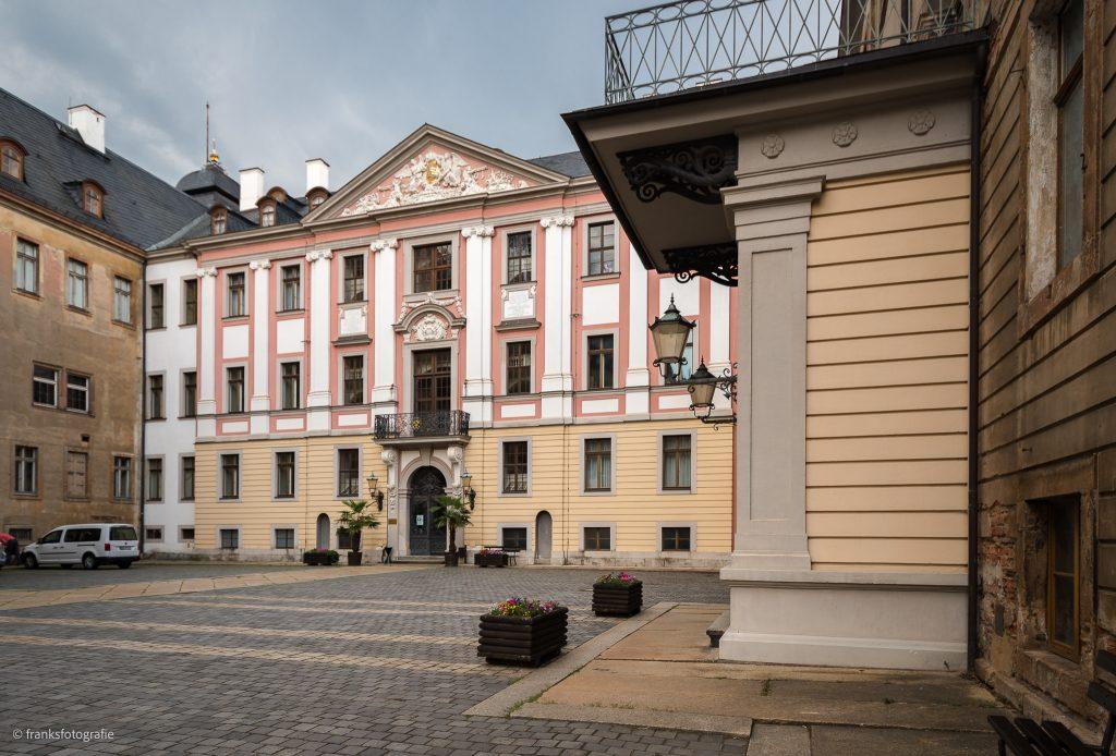 Schloss Altenburg erkunden Corps de Logis