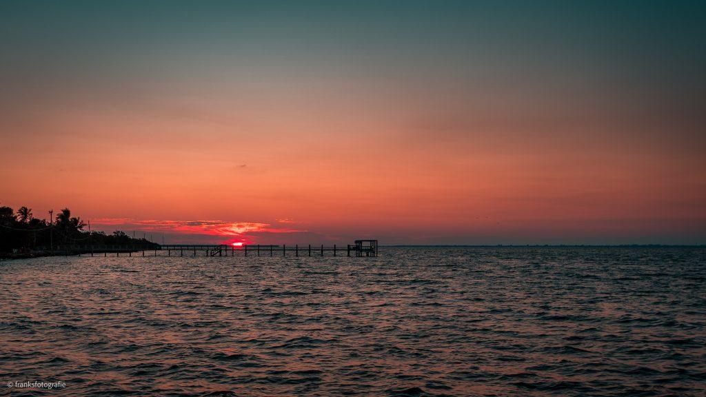 Traumhaftes Florida entdecken Sonnenuntergang in Bokeelia
