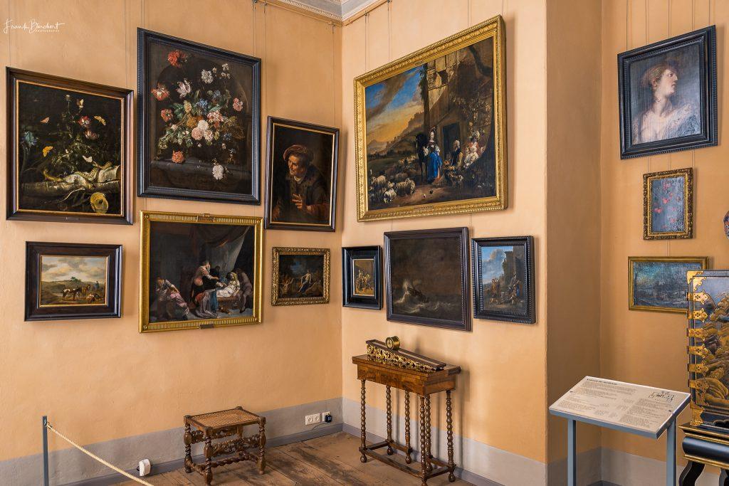 Schloss Caputh erkunden Bilderkabinett