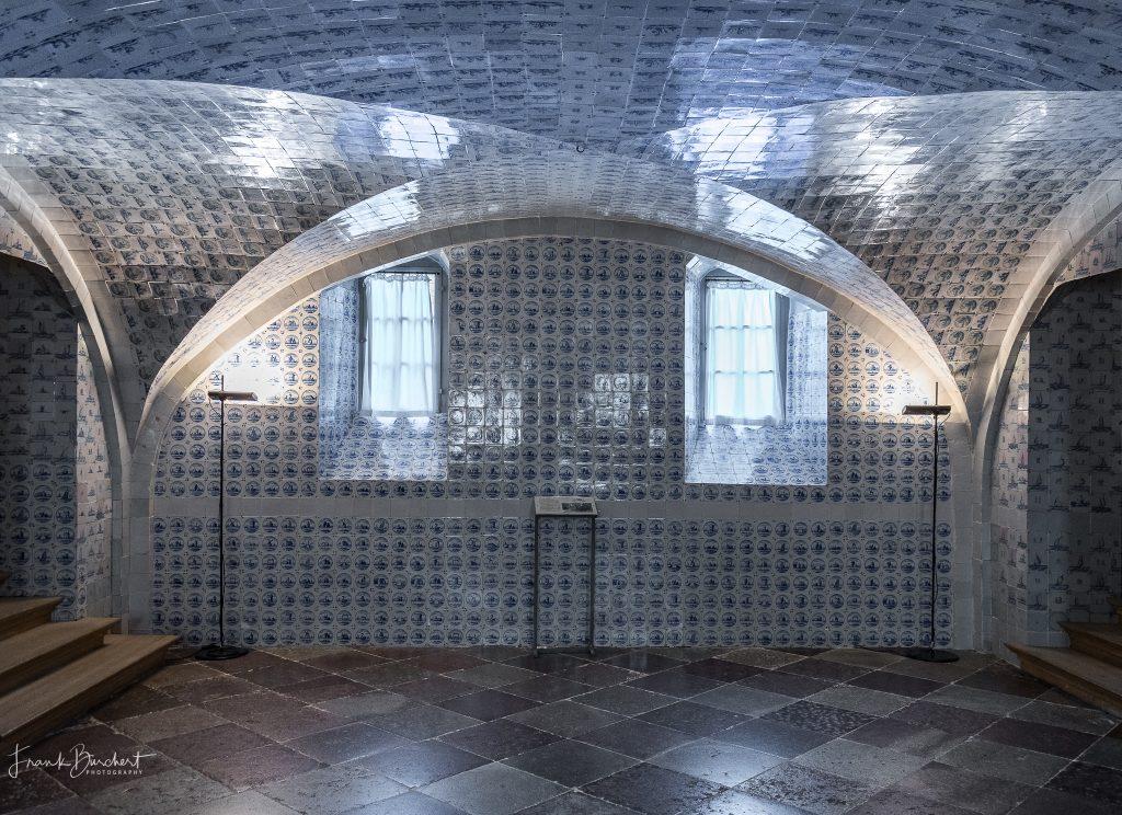 Schloss Caputh erkunden Fliesensaal